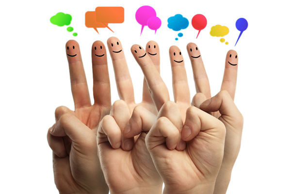BuzzRecruiter social media fingers
