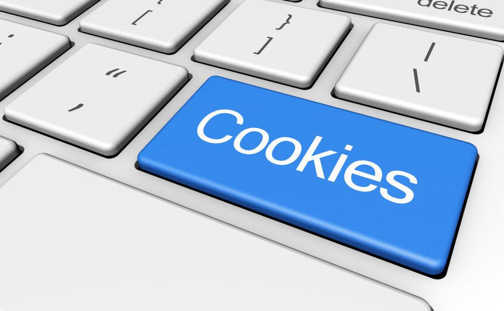 Internet browser cookies erasing, clearing cache